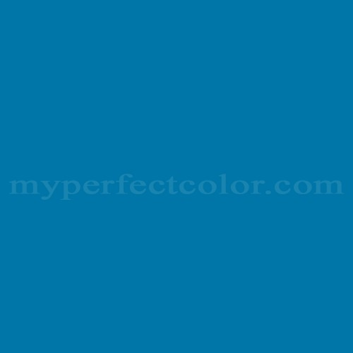 Color Match Of True Value 29b7 Jamaican Blue