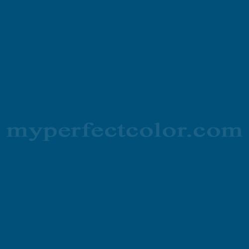 Match of Para Paints™ P5006-85 Monaco Blue *