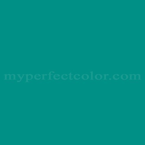 Match of Para Paints™ P5019-63D Teal Waters *
