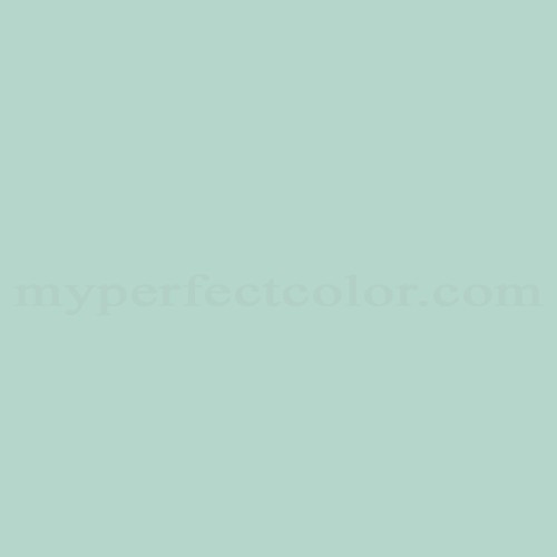 Match of Pittsburgh Paints™ 2012 Turquoise Pastel *