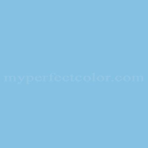 Match of Pittsburgh Paints™ 2092 Blue Warbler *