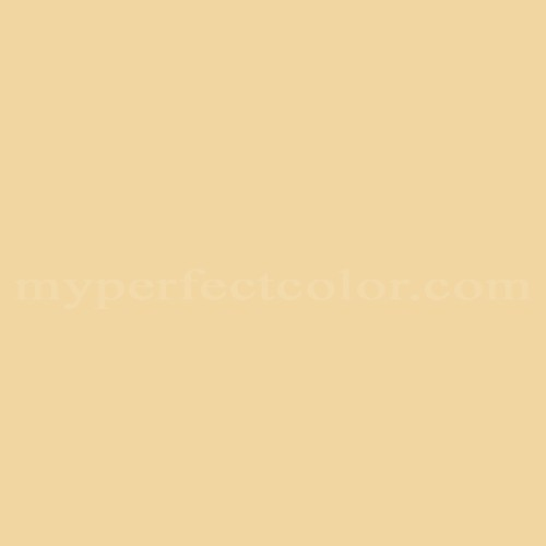 Match of Pittsburgh Paints™ 2276 Castille Gold *