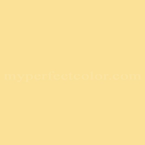 Match of Pittsburgh Paints™ 2308 Mineral Yellow *