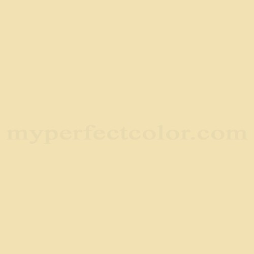 Match of Pittsburgh Paints™ 2336 Yellow Mist *