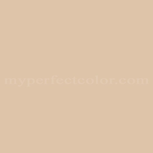 Match of Pittsburgh Paints™ 2491 Cream Beige *