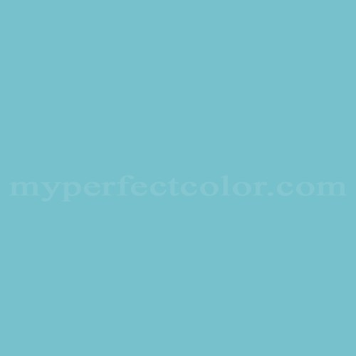 Match of Pittsburgh Paints™ 3039 Porcelain Blue *