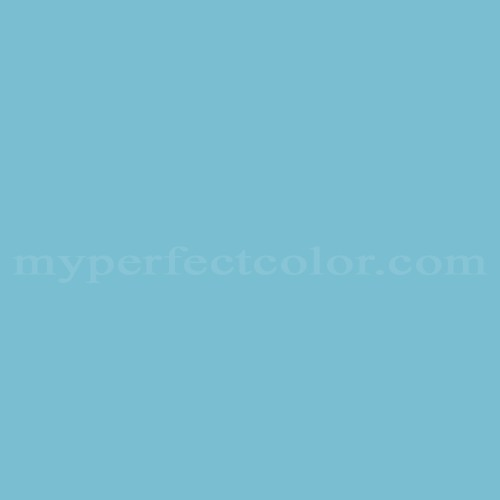 Match of Pittsburgh Paints™ 3063 Crescent Blue *