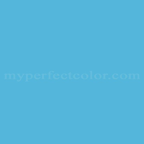 Match of Pittsburgh Paints™ 3065 Flash Blue *