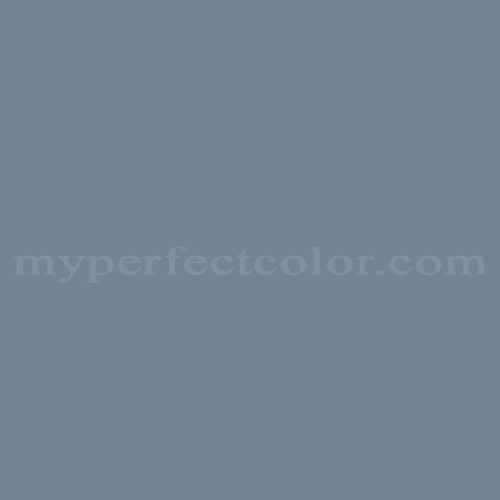 Match of Pittsburgh Paints™ 3099 Northern Blue *