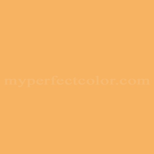 Match of Pittsburgh Paints™ 3248 Pago Orange *
