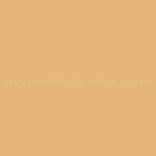Match of Pittsburgh Paints™ 3270 Gold Leaf *