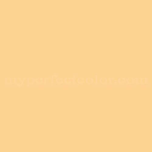 Match of Pittsburgh Paints™ 3300 Yellow Buff *