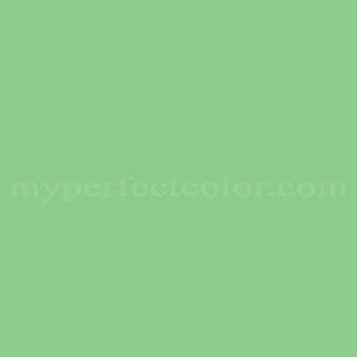Match of Pittsburgh Paints™ 3399 Fresh Green *