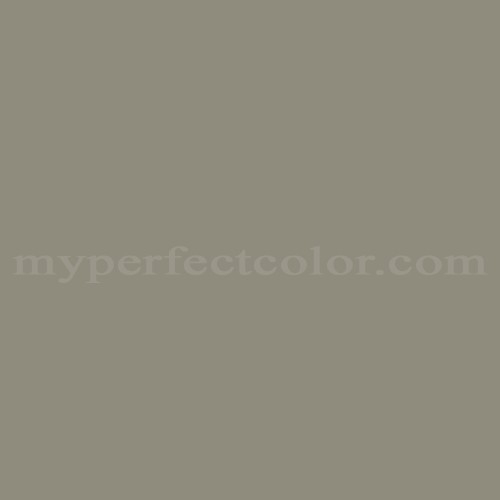 Match of Pittsburgh Paints™ 3758 Smoky Gray *