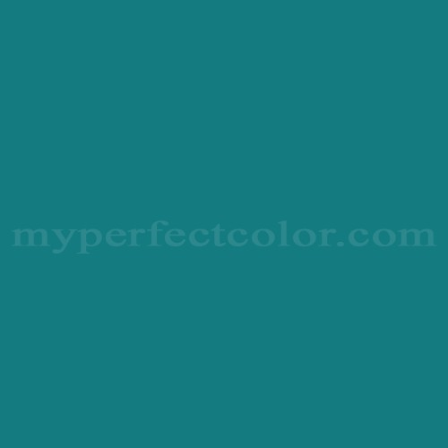Match of Pittsburgh Paints™ 4034 Blue Manchu *