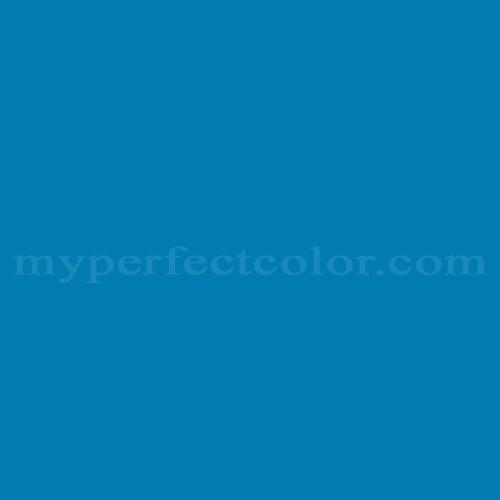 Match of Pittsburgh Paints™ 4069 Renaissance Blue *