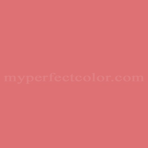 Match of Pittsburgh Paints™ 4154 Queen Coral *