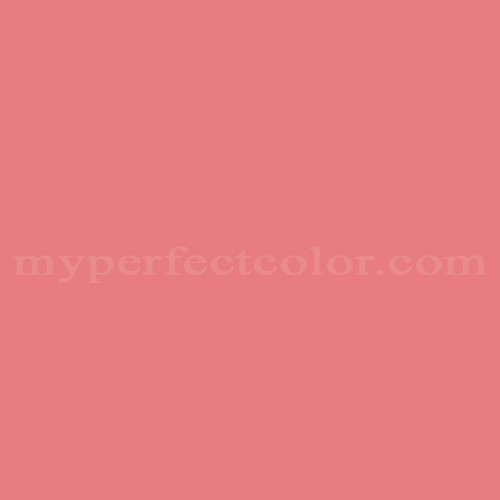Match of Pittsburgh Paints™ 4155 Blazen Pink *