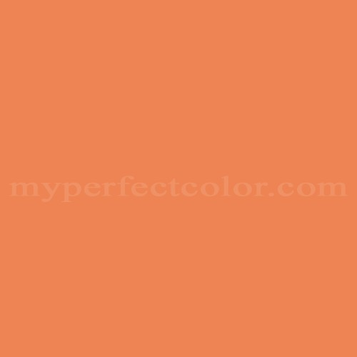 Match of Pittsburgh Paints™ 4210 Glazed Carrot *