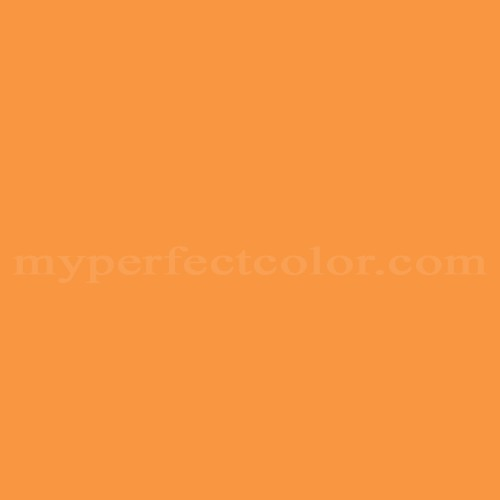 Match of Pittsburgh Paints™ 4214 Cherokee Orange *