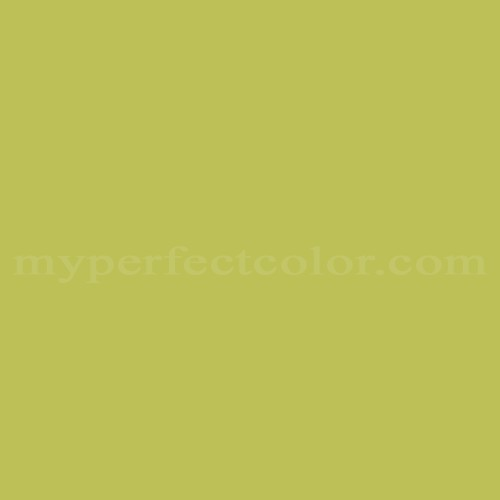 Match of Pittsburgh Paints™ 4366 Spring Chartreuse *