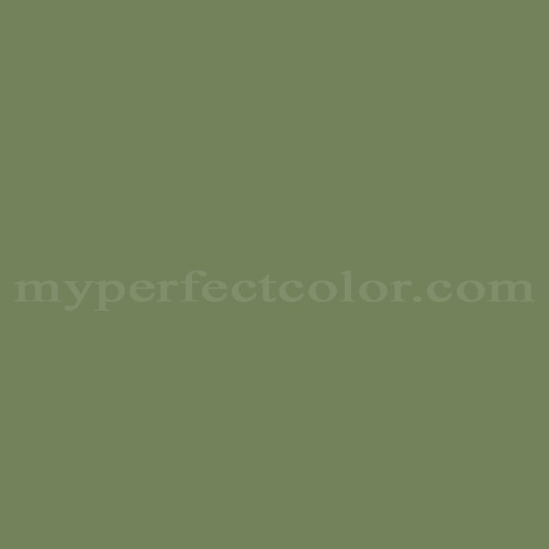 Match of Pittsburgh Paints™ 4430 Boxwood Green *