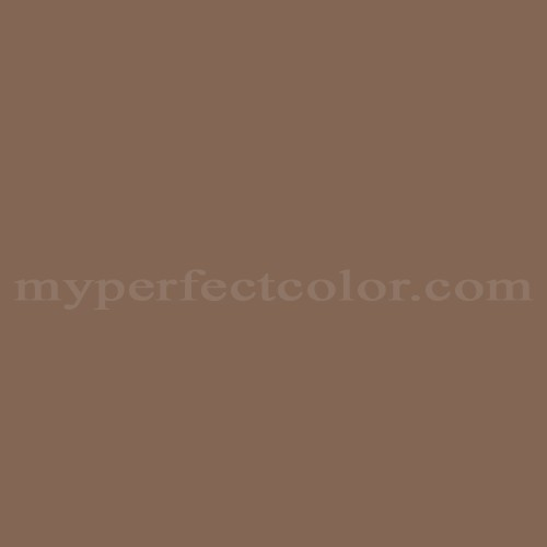 Match of Pittsburgh Paints™ 4604 Dusky Brown *