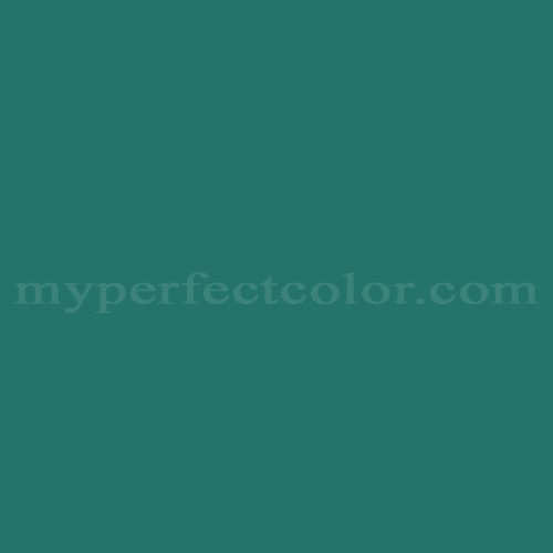 Match of Pittsburgh Paints™ 7030 Deep Lagoon *