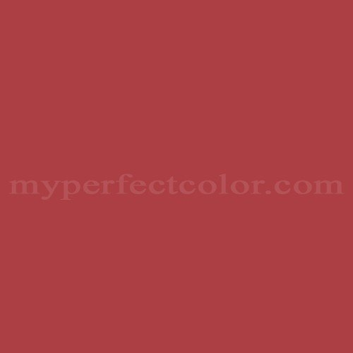 Match of Pittsburgh Paints™ 7157 Cardinal *