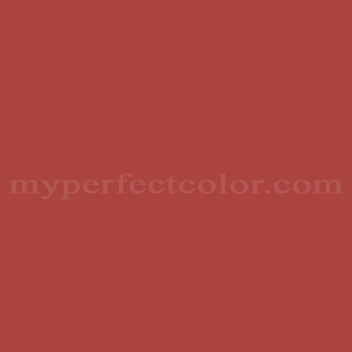 Match of Pittsburgh Paints™ 7186 Rapture Red *