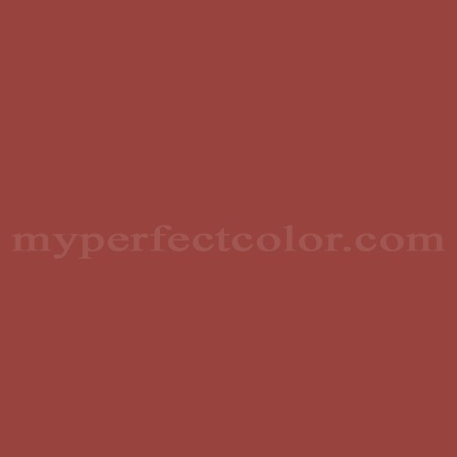 Match of Pittsburgh Paints™ 7187 Tomato Spice *