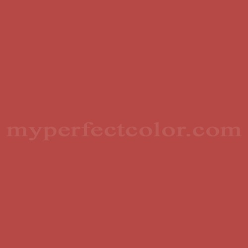 Match of Pittsburgh Paints™ 7194 Red Heart *