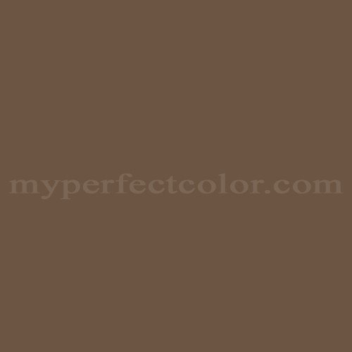 Match of Pittsburgh Paints™ 7608 Ginger Brown *