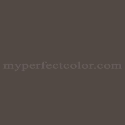 Match of Pittsburgh Paints™ 7611 Black Chocolate *