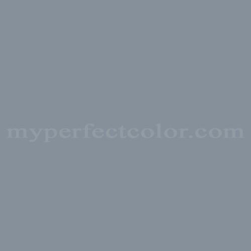 Color Match Of Behr Ppf 28 Blue Dusk