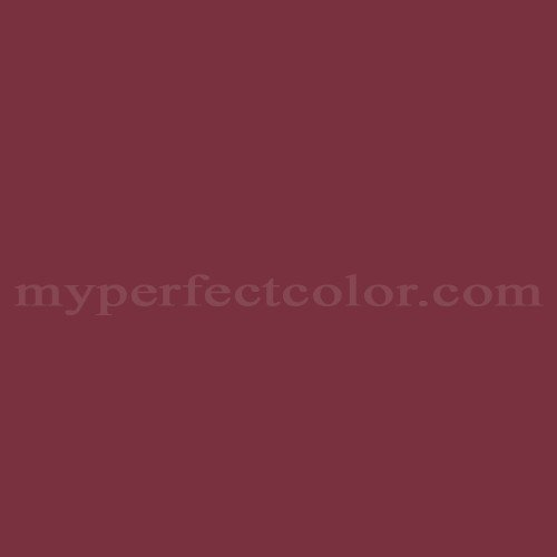 Match of Behr™ UL100-4 Cranberry *