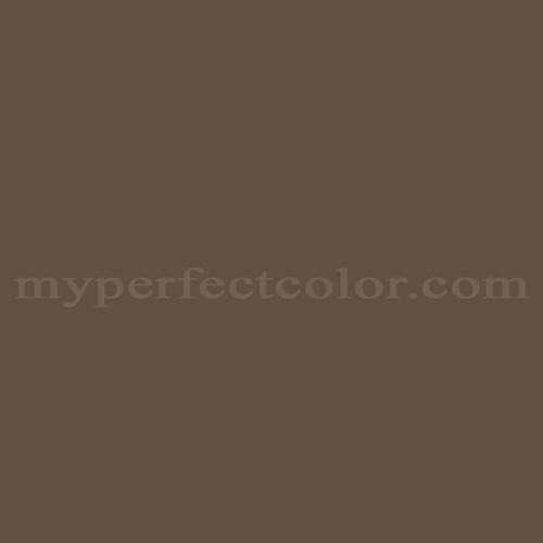 Match of Behr™ UL140-3 Chocolate Swirl *