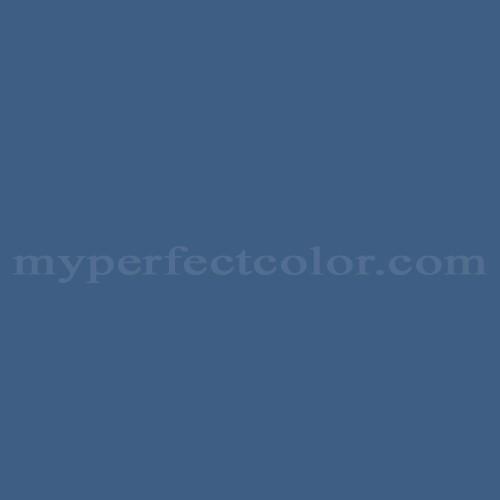Match of Behr™ UL240-21 Mosaic Blue *