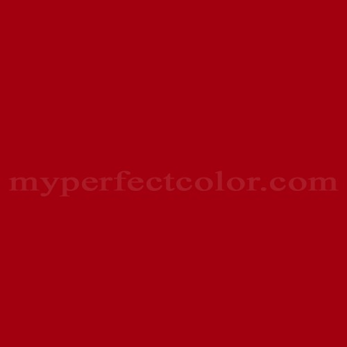 Match of Sherwin Williams™ SW2910 Primary Red *