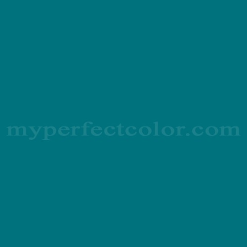 Color Match Of Bruning Paints Ac149 Great Blue Green