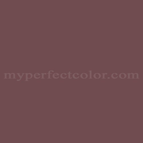 Color Match Of Duron Dcr045 Charleston Spanish Brown