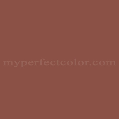 Color Match Of Duron Dmv077 Spanish Brown