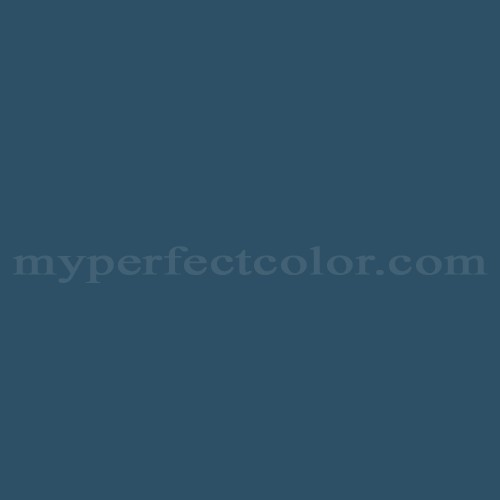 Color Match Of Ici Old World Blue