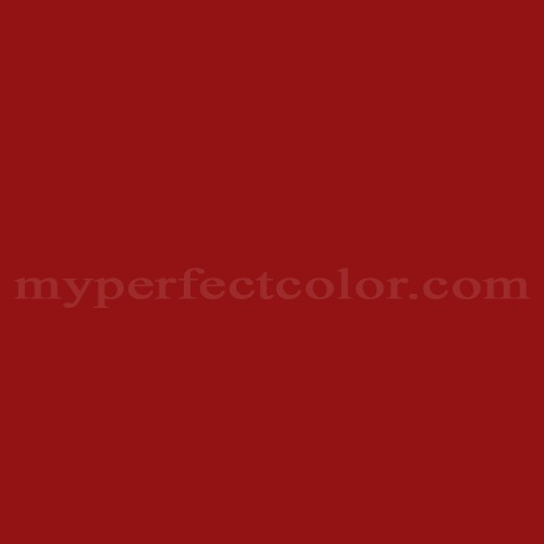 Benjamin Moore Heritage Red