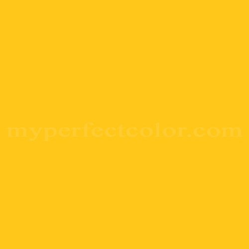 Match of Tnemec™ 14YW Canary Yellow *