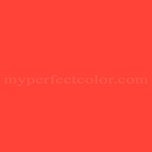 Color Match Of Pantone Pms Warm Red C