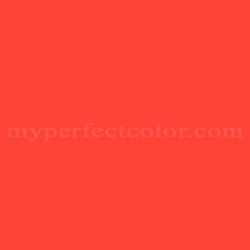 Match of Pantone™ PMS Warm Red C *