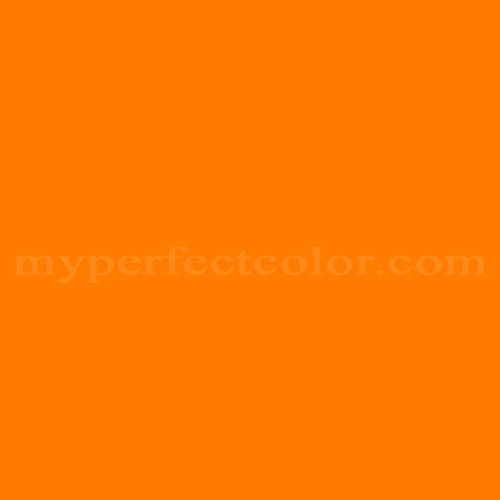 Color Match Of Pantone PMS Hexachrome Orange