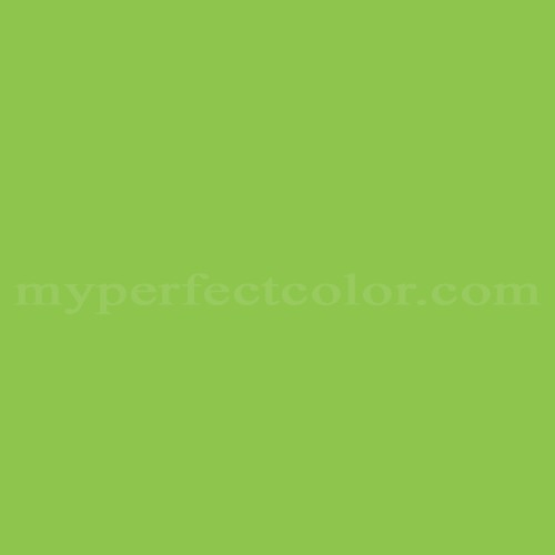 Color Match Of Hexis Kiwi Green