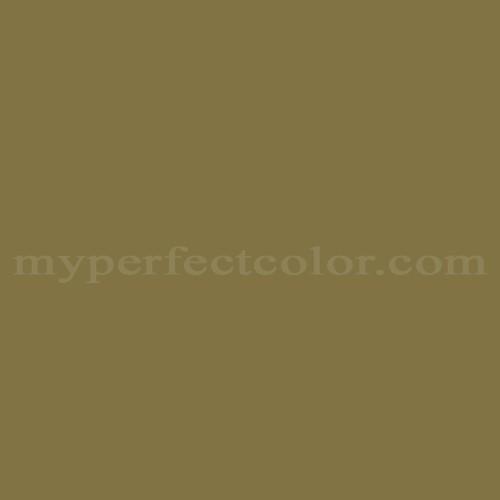 Color Match Of Behr M330 7 Green Tea Leaf